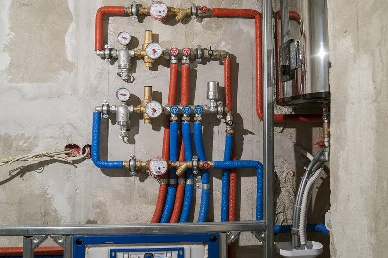 Монтаж водопровода в доме