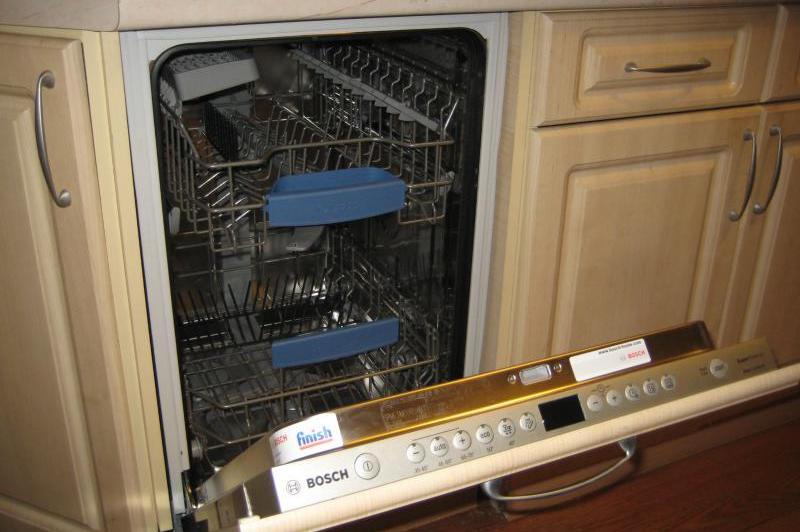 Подключение посудомочной машины к канализации