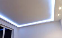 Монтаж потолков из гипсокартона