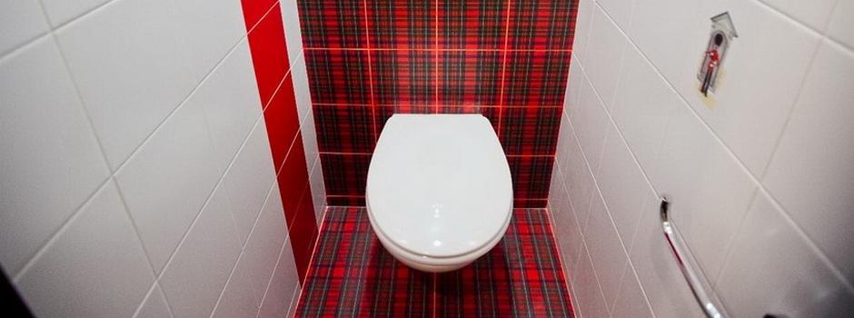 Укладка плитки в туалете Минск
