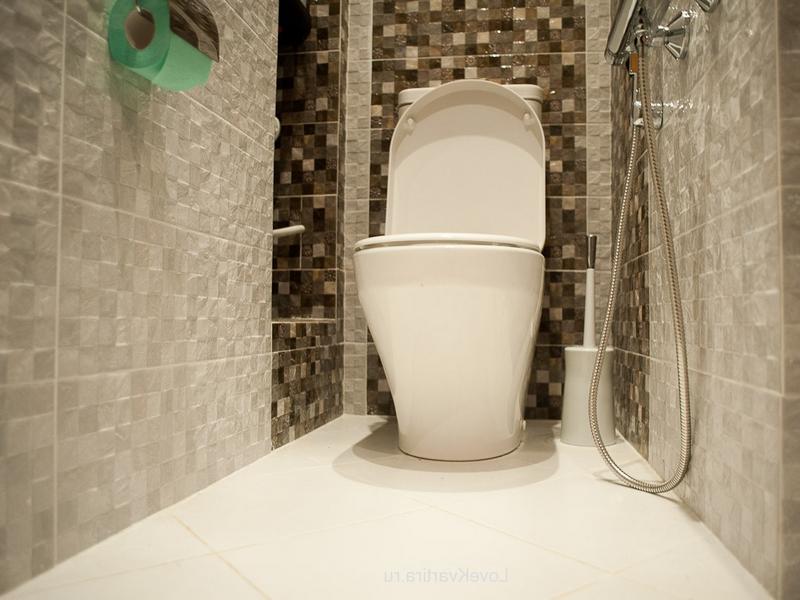 Керамическая плитка в туалете