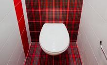 Укладка плитки в туалете