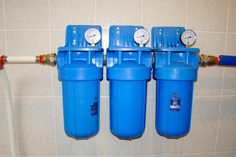 Установка фильтра для воды в Минске