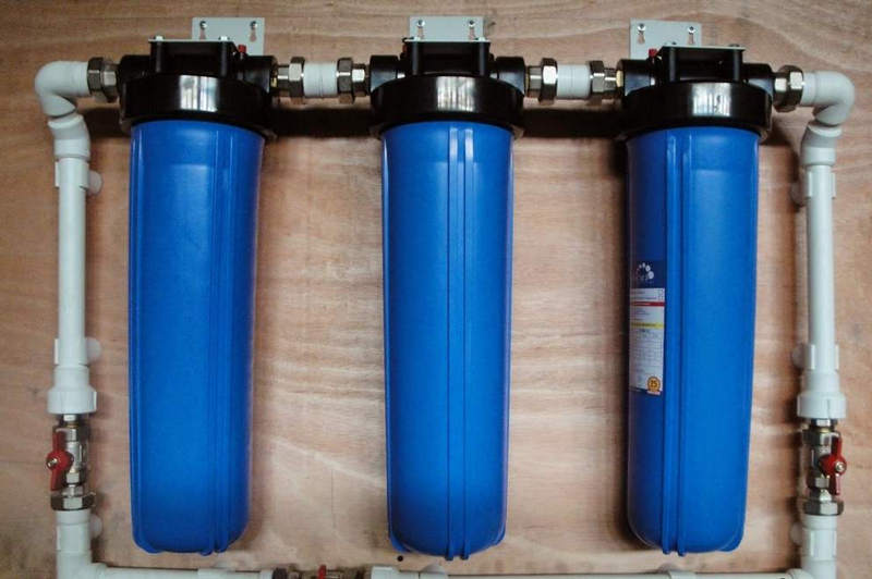 Установка фильтра для умягчения воды в Минске