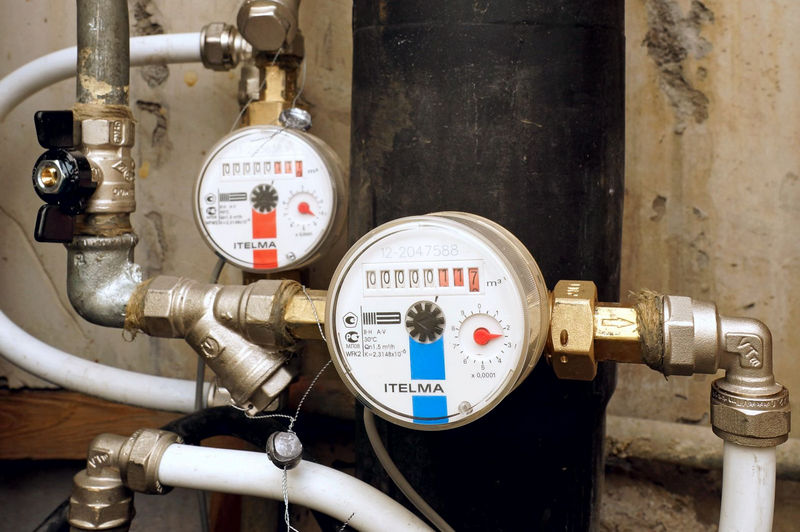 Установка счетчиков воды в Минске