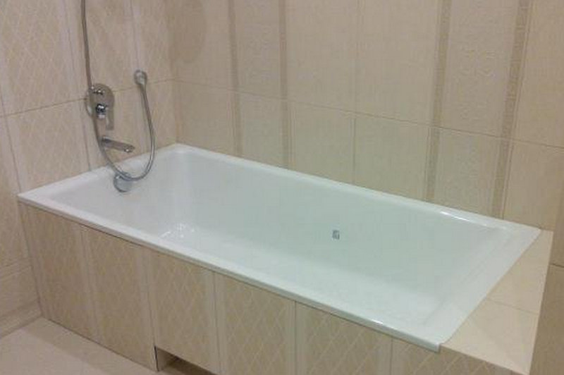 Установка стальной ванны в Минске
