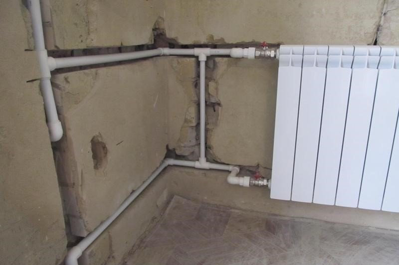 Замена радиатора отопления в Минске